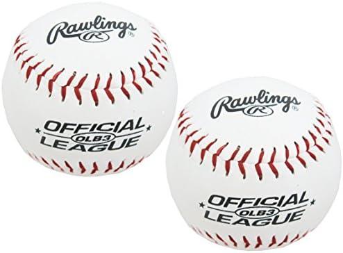 81ba2687 Amazon.com: Rawlings Baseballs Official League Recreational Use OLB3, 2  Ball Pack: Sports & Outdoors