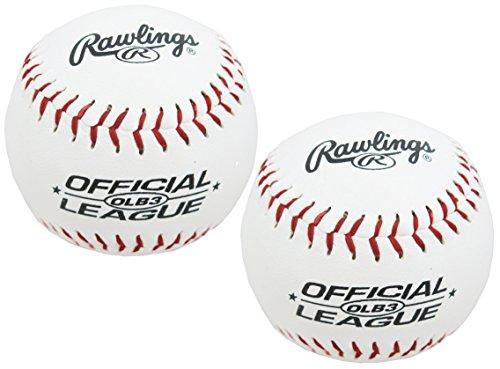 (Rawlings Baseballs Official League Recreational Use OLB3, 2 Ball Pack)