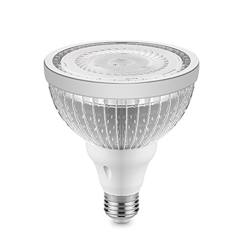 ALLOMN PAR38 COB LED Spotlight Bulb 1600LM 20W Lamp (100W Equivalent) E27 Base 38 Degree Beam Angle 6000k-6500K AC 85-265V, Cool ()
