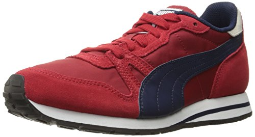 Puma Womens Yarra Classic Wns Cross-Trainer Shoe Barbados Cherry/Peacoat
