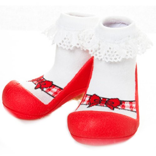 c377bcdc0c54b Amazon.com: First Walking Shoes with Socks for Baby Boys Girls ...