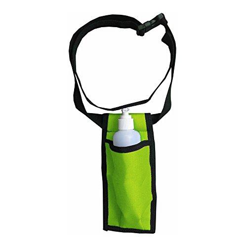 Single Adjustable Massage Oil/Lotion Holster - Green