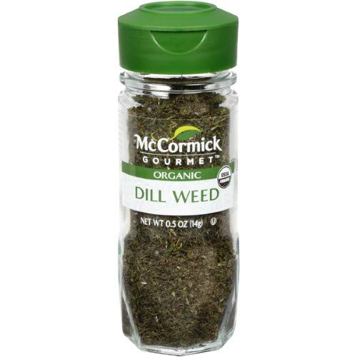 McCormick Gourmet Organic Dill Weed (Pack of 20)