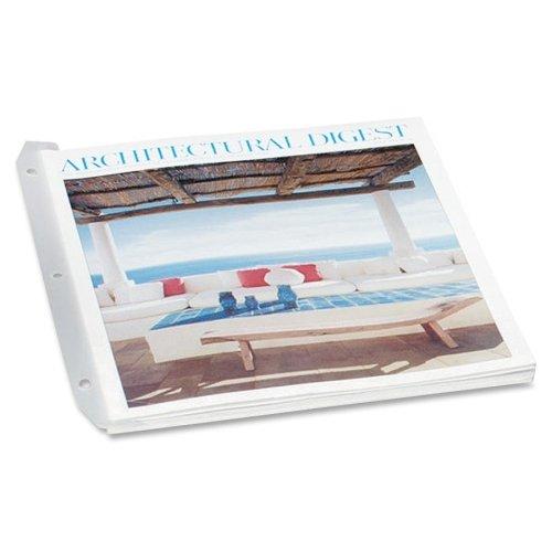 Wholesale CASE of 25 - Baumgartens Magazine / Catalogue Organizers-3 Ring Catalog/Magazine Organizer,9-1/2''x11-1/2'',12/PK,CL