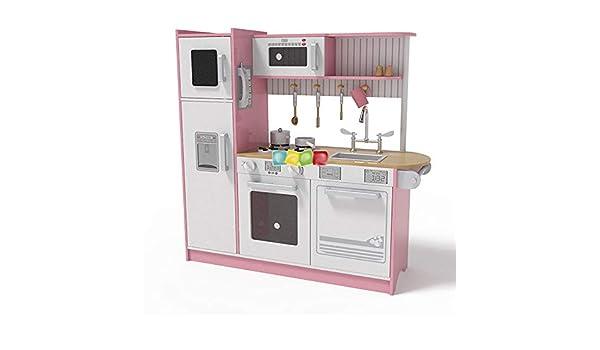 Juguete de la Cocina El Papel de Cocina Cocina con Microondas ...