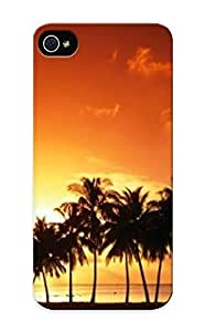 9b9da981567 Premium Palm Tree Sunset Back Cover Snap On Case For Iphone 5/5s