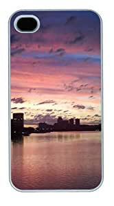 city sunset PC For Samsung Galaxy S5 Mini Case Cover White