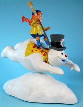 Frosty the Snowman Belly Whopper Frosty Deluxe Bobbling Figure (Rankin Christmas Jimmy)
