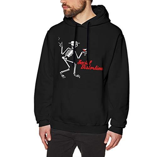 YouNood Social Distortion Irish Mens Long Sleeve Sweatshirts Mans Hoodies 3XL -