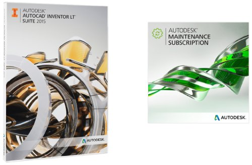 Autodesk AutoCAD Inventor LT Suite 2015 with 1-Year Maint...