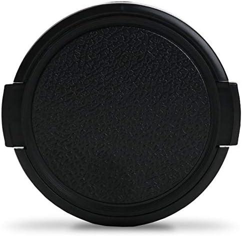 CELLONIC Capuchon dobjectif /Ø 77mm Avant Snap-on: Pincement lat/éral Couvercle Capot de Protection Compatible avec Canon EF EF-S