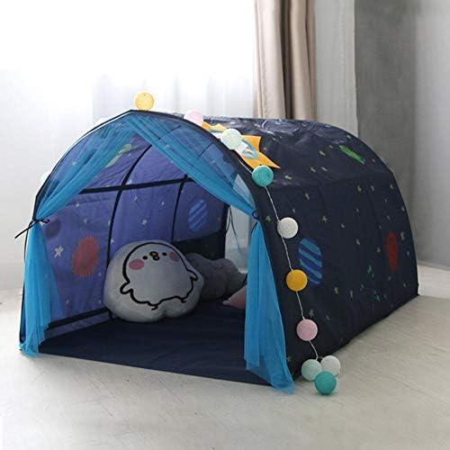 dianhai306 Tenda da Letto per Bambini Tenda da Gioco Tenda da Letto Tunnel Tenda casa del Bambino Tenda Piccola casa Adatta per i Giochi per Bambini