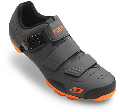 Giro Privateer R Shoe - Men's Dark Shadow/Flame 47