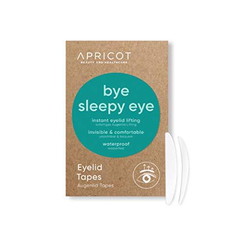"""APRICOT Eyelid Tapes Schlupflidtape (96 Stück/Größe S+M) - sofortiges Augenlid-Lifting! hängende Augenlider sofort beseitigen! Made in Germany, dermatologisch """"sehr gut"""" getestet"""