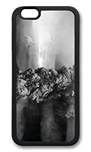 MOKSHOP Adorable 1980 eruption of Mount St. Helens Washington State Soft Case Protective Shell Cell Phone Cover For Apple Iphone 6 Plus (5.5 Inch) - TPU Black
