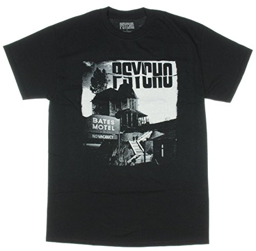 Psycho Movie Bates Motel Mens T-Shirt (Medium)