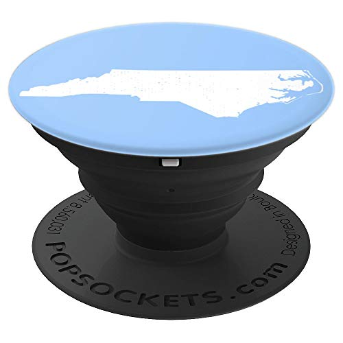 North Carolina Home pride native Southeast State - PopSockets Grip and Stand for Phones and Tablets (Soma Durham Nc)