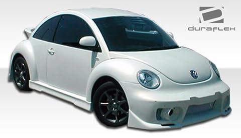 1998-2005 Volkswagen Beetle Duraflex Evo 5 Body Kit - 4 Piece - Includes Evo 5 Front Bumper Cover (102176) Evo 5 Side Skirts Rocker Panels (105659) Evo 5 Rear Bumper Cover - Evo 5 Duraflex Body