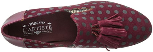 Lartiste Di Spring Step Womens Klasik Flat Bordeaux