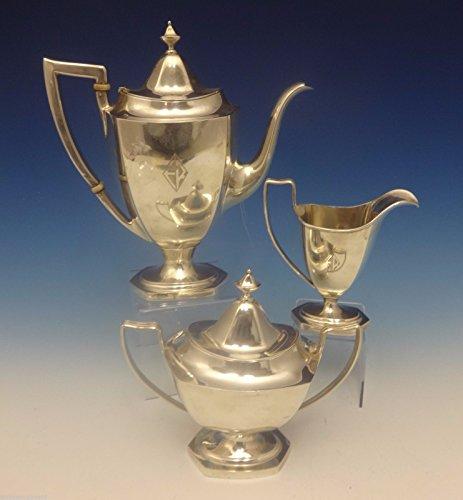 Deerfield aka Beacon Hill by International Sterling Silver Tea Set 3pc (#0347) ()