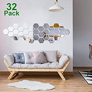 Amazon.com: Shappy - Adhesivo decorativo para pared, diseño ...