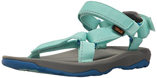 Teva Girls' Y Hurricane XLT 2 Sport Sandal, Speck Sea Glass, 6 M US Big -