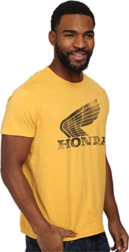 Tailgate Clothing Co. Men's Honda Wing Tee Maize T-Shirt MD