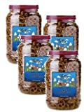 Office Snax, OFX00082, Old Fashioned Mini Twist Pretzels, 1 Each (Pack of 4)