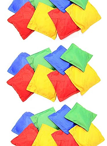 Nylon Bean Bags Toy Assorted 12 pc 5x5in by Oojami by Oojami
