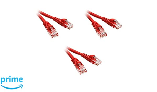 Red Cat 5e 20 ft. Ethernet Cable