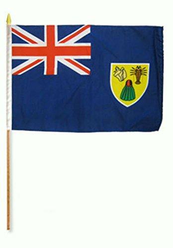 AES Turks & Caicos 12″x18″ Stick Flag (12) Review