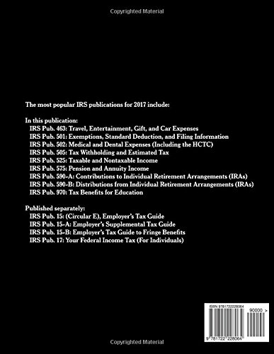 Popular IRS Publications for 2017: Publications 463, 501