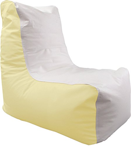 Ocean-Tamer Wedge Marine Bean Bag (White/Fighting Lady Yellow)