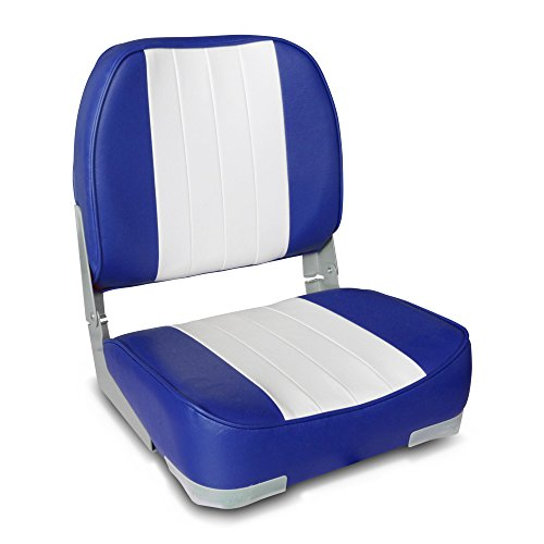 Leader Accessories Deluxe Folding Marine Boat Seat (Replacement Boat Seats)