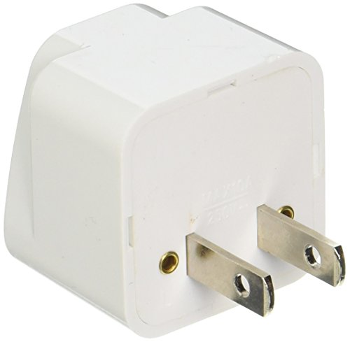 US to EU Europe and Universal Power Adaptor Travel Plug Converter - 2
