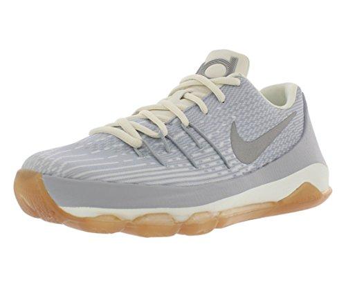 tball Shoe,Wolf Grey/Metallic Silver-Silver-White,5 Youth ()