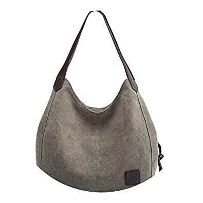 Amazon.com: Vintage Shoulder Bag Women Handbags Ladies Hand ...