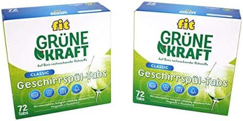 FIT Grüne Kraft Classic 144 Tabs Pastillas para lavavajillas ...