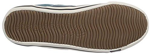 Mustang 1099-302-9 Damen Sneakers Türkis (760 smaragd)