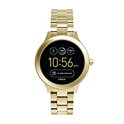 Fossil Q Women's Gen 3 Venture Stainless Steel Smartwatch, Color: Gold-tone (Model: Ftw6006)