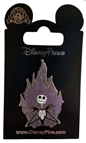 Disney Pin - Jack Skellington in front of Castle for sale  Delivered anywhere in USA