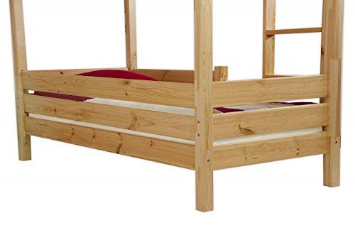 Modello 60.16 per Superficie di appoggio Inferiore Kisi 16 Protezione Anti-Caduta per Letti a Castello Erst-Holz/®
