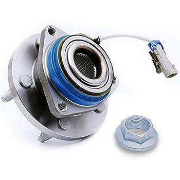 513121 x 2 Front//Rear Wheel Hub and Bearing Assembly Aurora LEDKINGDOMUS Wheel Hub Bearing Compatible for Allure Century Impala 5 Lug W//ABS Bonnevile