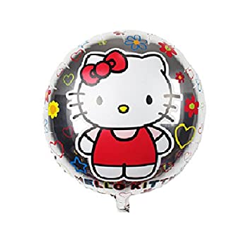 Amazon The New Childrens Toys Aluminum Balloons Round Kt Cat