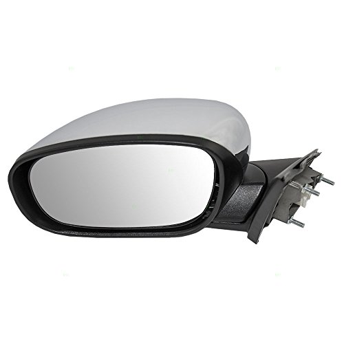 Drivers Power Side View Mirror Heated Chrome Cover Replacement for Chrysler Dodge 4806871AL AutoAndArt