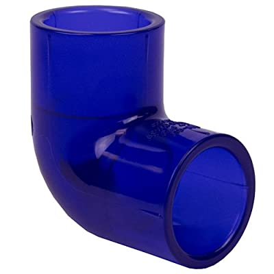 "2"" Socket Low Extractable PVC 90° Elbow (1 PVC Elbow)"