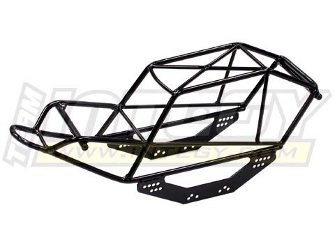Integy RC Model Hop-ups C23041 DIY Steel Roll Cage Tube Frame Chassis for 2.2 Rock Crawler (AX10, WK ... (Steel Roll Cage)