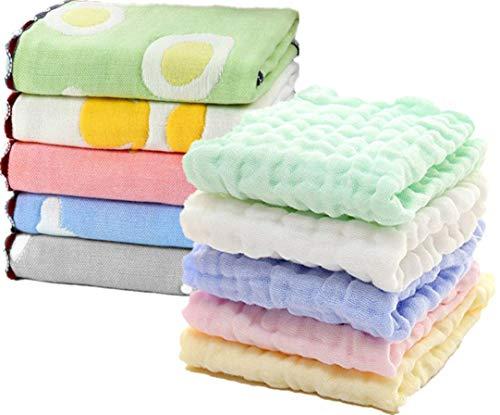 Muslin Baby Washcloths Organic