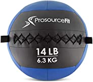 ProSource Soft Medicine Balls for CrossFit Wall Balls and Full Body Dynamic Ex-ercises, Color-Coded Weights 6.