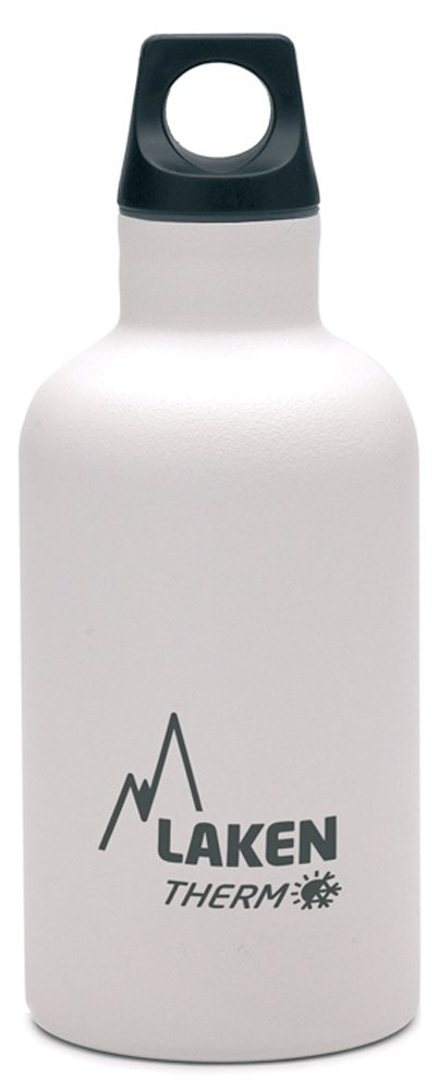 Laken Futura Botella Térmica Acero Inoxidable 18/8 y Doble Pared de Vacío, Unisex adulto, Blanco, 500 ml